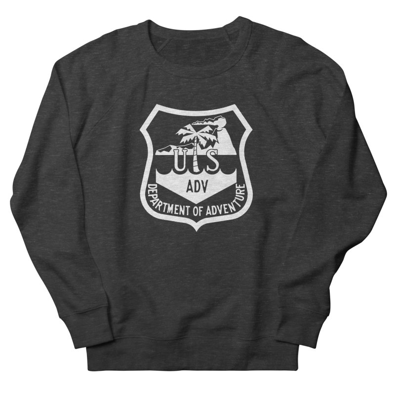 Dept. of Adventure - Tropical (Inverted) Men's Sweatshirt by CLINTZERO ONLINE SHOP