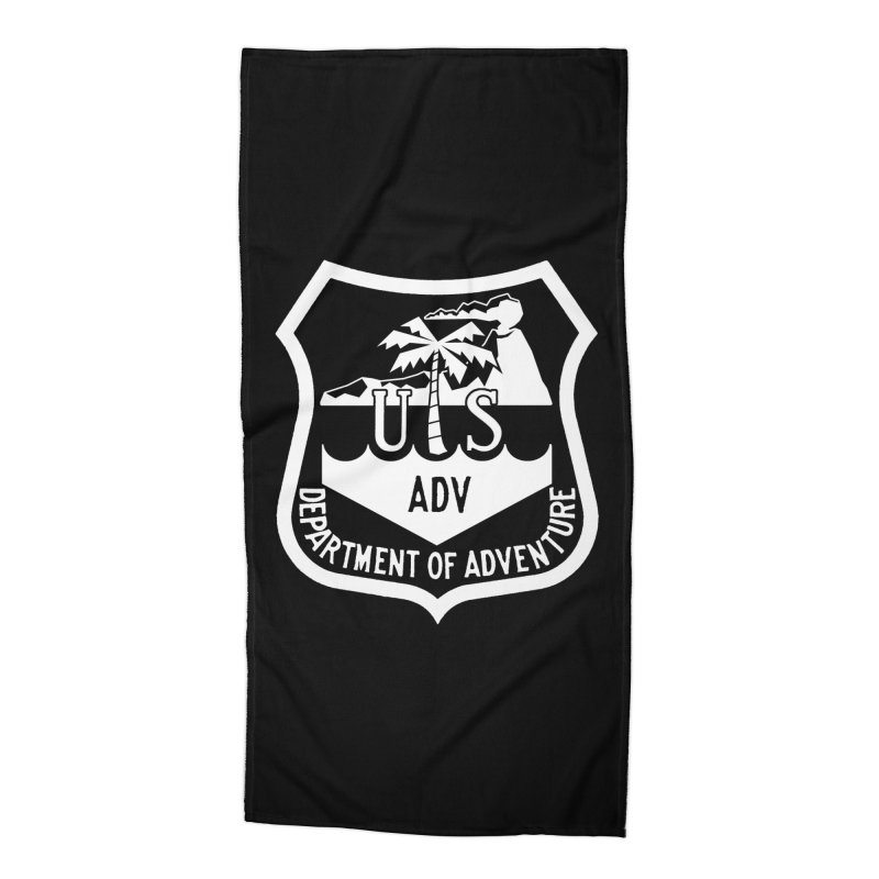 Dept. of Adventure - Tropical (Inverted) Accessories Beach Towel by CLINTZERO ONLINE SHOP