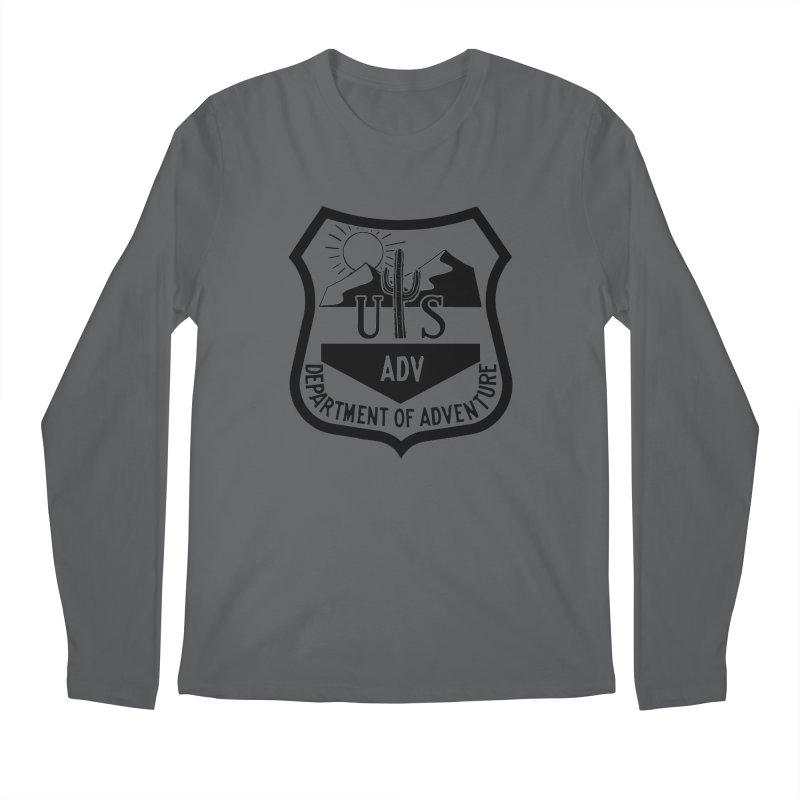 Dept. of Adventure - Desert Men's Regular Longsleeve T-Shirt by CLINTZERO ONLINE SHOP