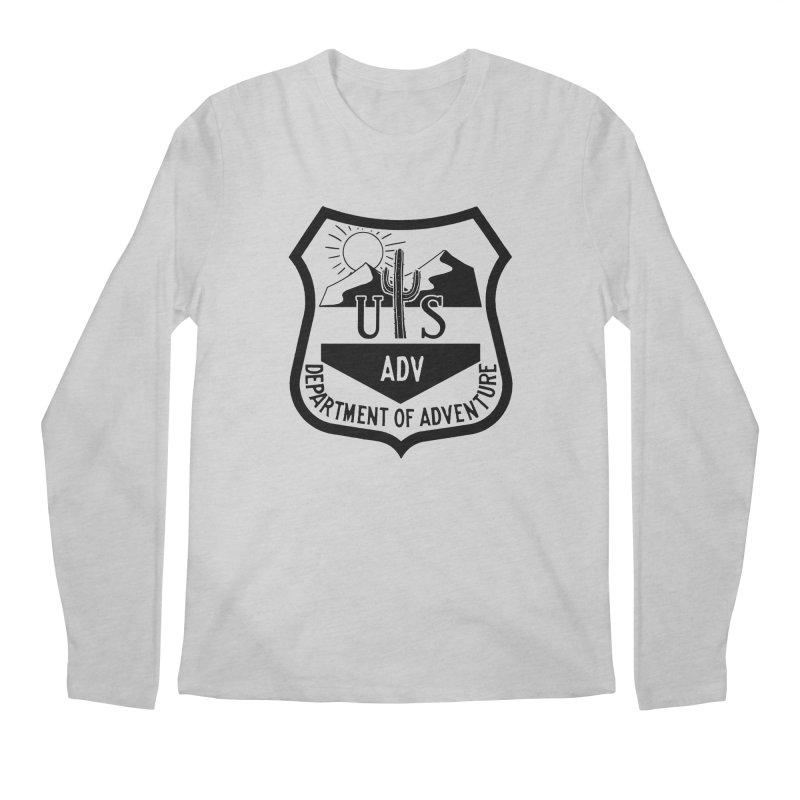 Dept. of Adventure - Desert Men's Longsleeve T-Shirt by CLINTZERO ONLINE SHOP
