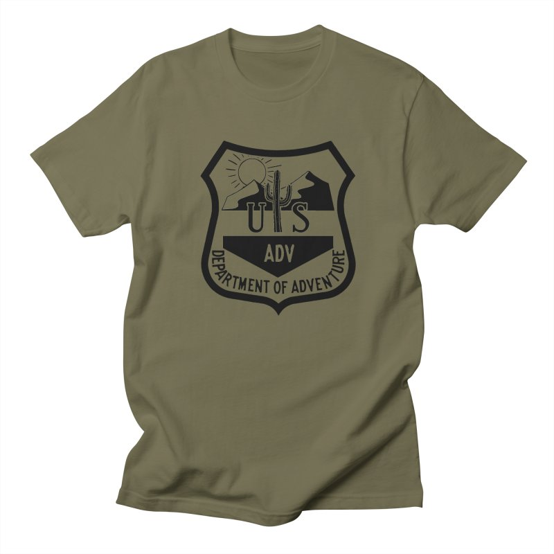 Dept. of Adventure - Desert Women's Unisex T-Shirt by CLINTZERO ONLINE SHOP