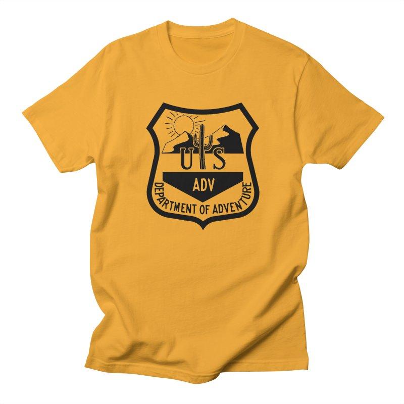 Dept. of Adventure - Desert Women's Unisex T-Shirt by CLINTZERO ONLINE SHOP