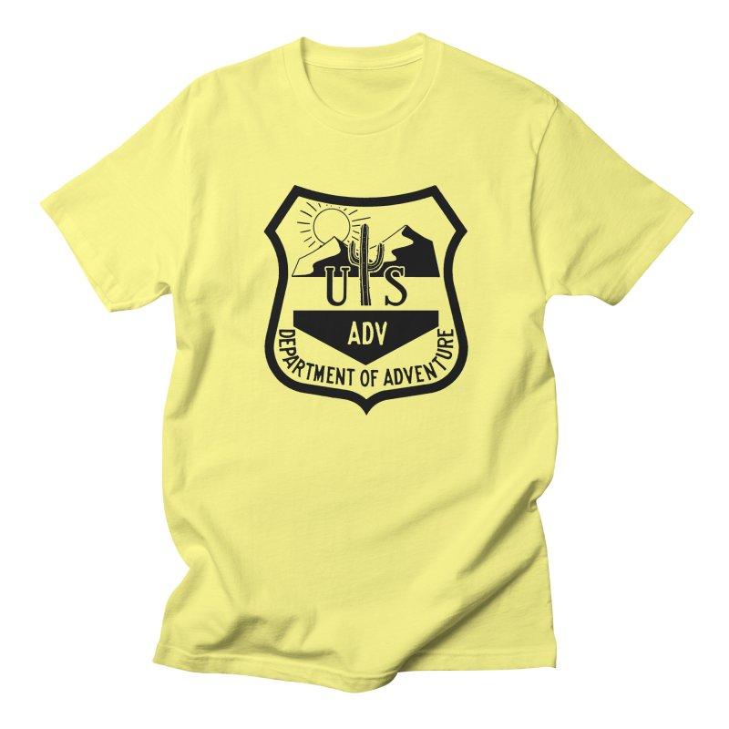 Dept. of Adventure - Desert Men's Regular T-Shirt by CLINTZERO ONLINE SHOP