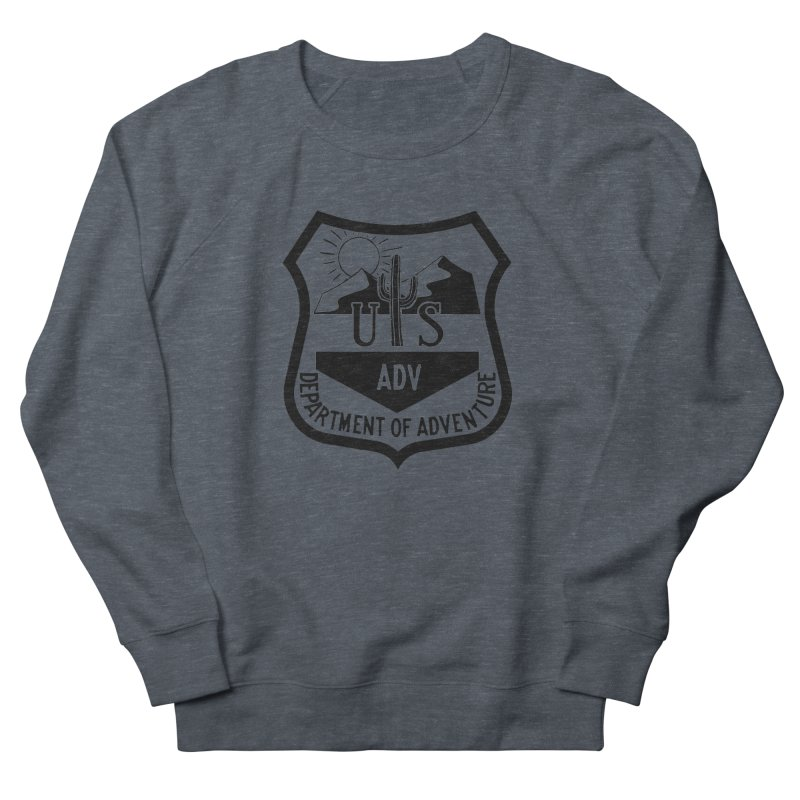 Dept. of Adventure - Desert Women's French Terry Sweatshirt by CLINTZERO ONLINE SHOP