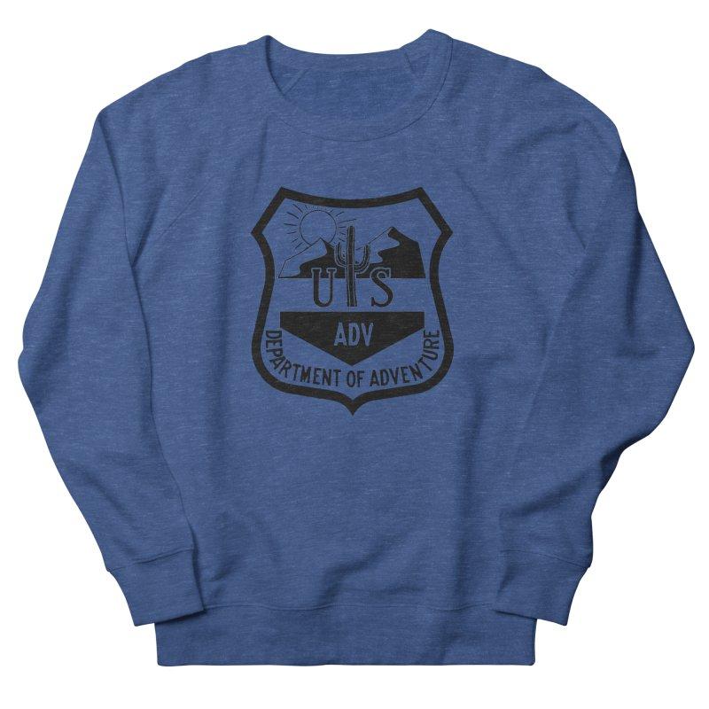 Dept. of Adventure - Desert Men's Sweatshirt by CLINTZERO ONLINE SHOP
