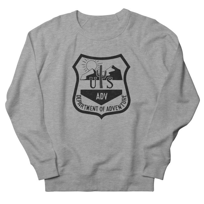 Dept. of Adventure - Desert Men's French Terry Sweatshirt by CLINTZERO ONLINE SHOP