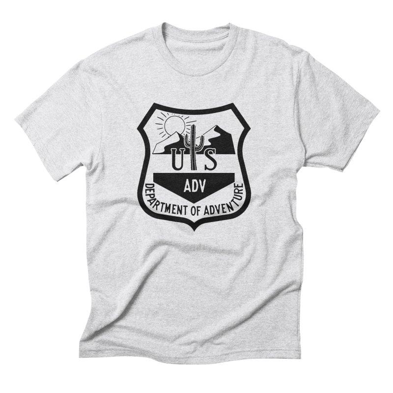 Dept. of Adventure - Desert Men's Triblend T-Shirt by CLINTZERO ONLINE SHOP