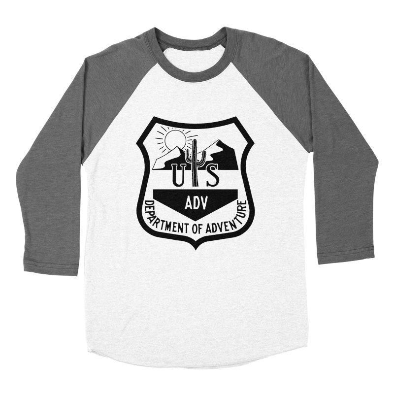 Dept. of Adventure - Desert Women's Baseball Triblend T-Shirt by CLINTZERO ONLINE SHOP