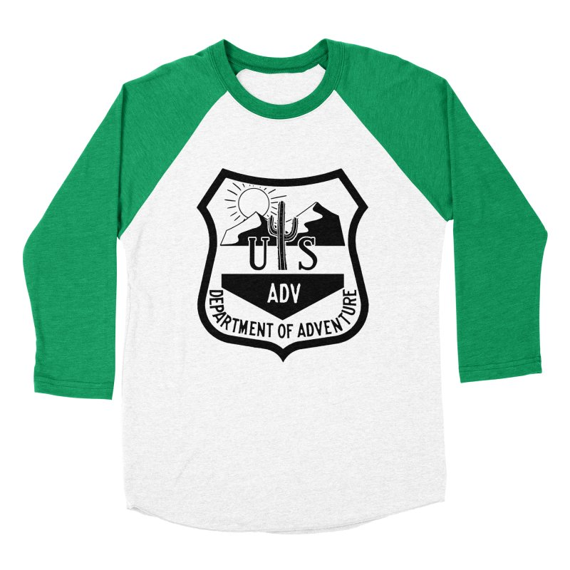 Dept. of Adventure - Desert Women's Baseball Triblend Longsleeve T-Shirt by CLINTZERO ONLINE SHOP