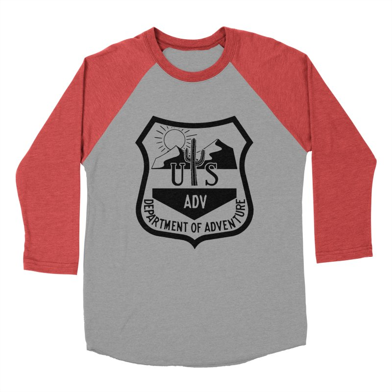 Dept. of Adventure - Desert Women's Baseball Triblend T-Shirt by CLINTZERO ONLINE SHOP