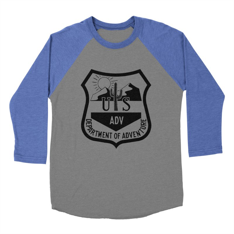 Dept. of Adventure - Desert Men's Baseball Triblend Longsleeve T-Shirt by CLINTZERO ONLINE SHOP