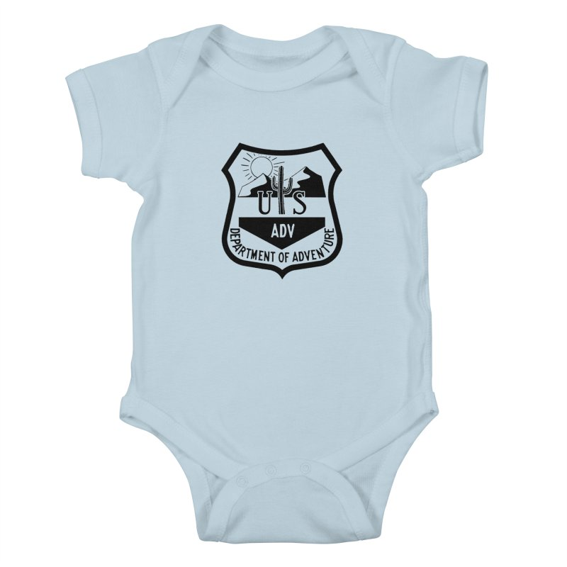 Dept. of Adventure - Desert Kids Baby Bodysuit by CLINTZERO ONLINE SHOP