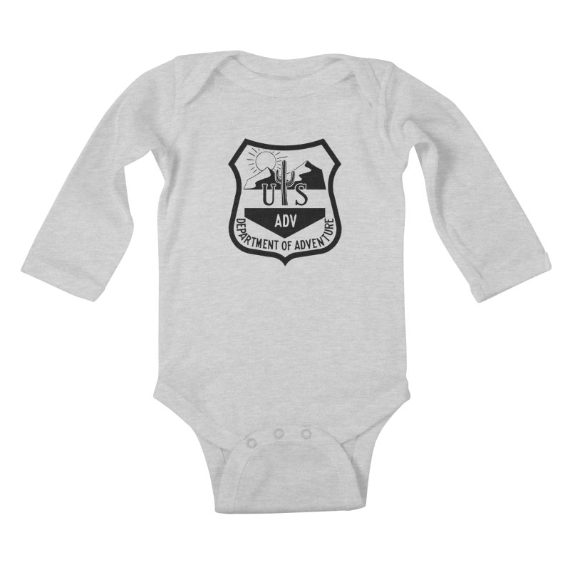 Dept. of Adventure - Desert Kids Baby Longsleeve Bodysuit by CLINTZERO ONLINE SHOP