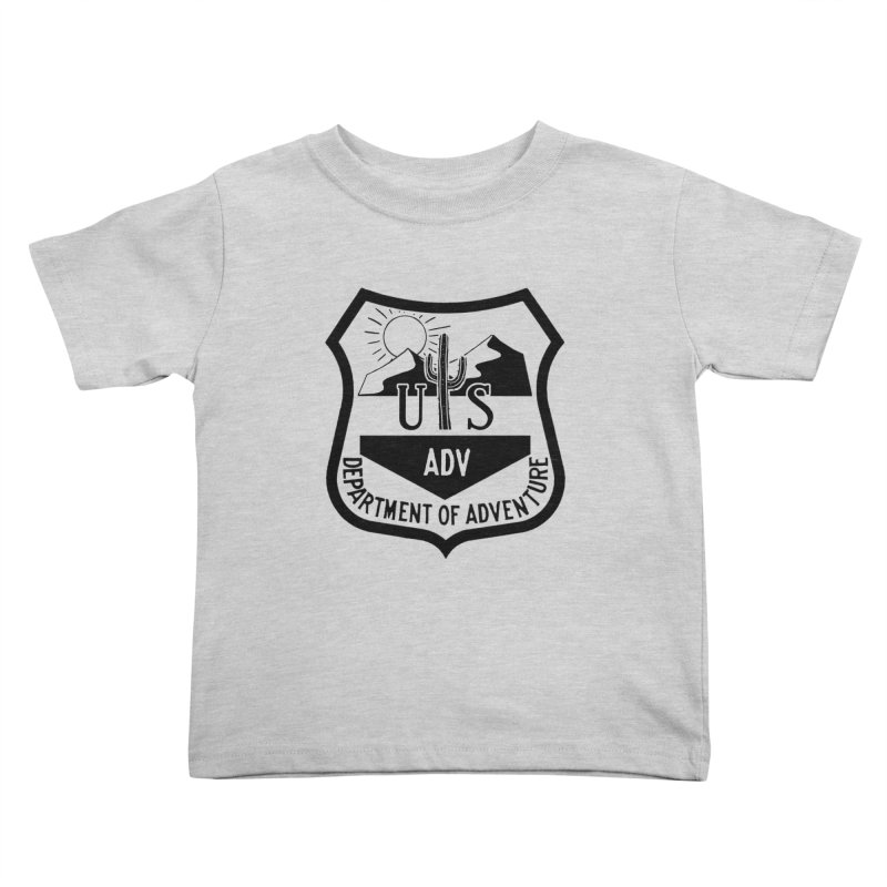 Dept. of Adventure - Desert Kids Toddler T-Shirt by CLINTZERO ONLINE SHOP