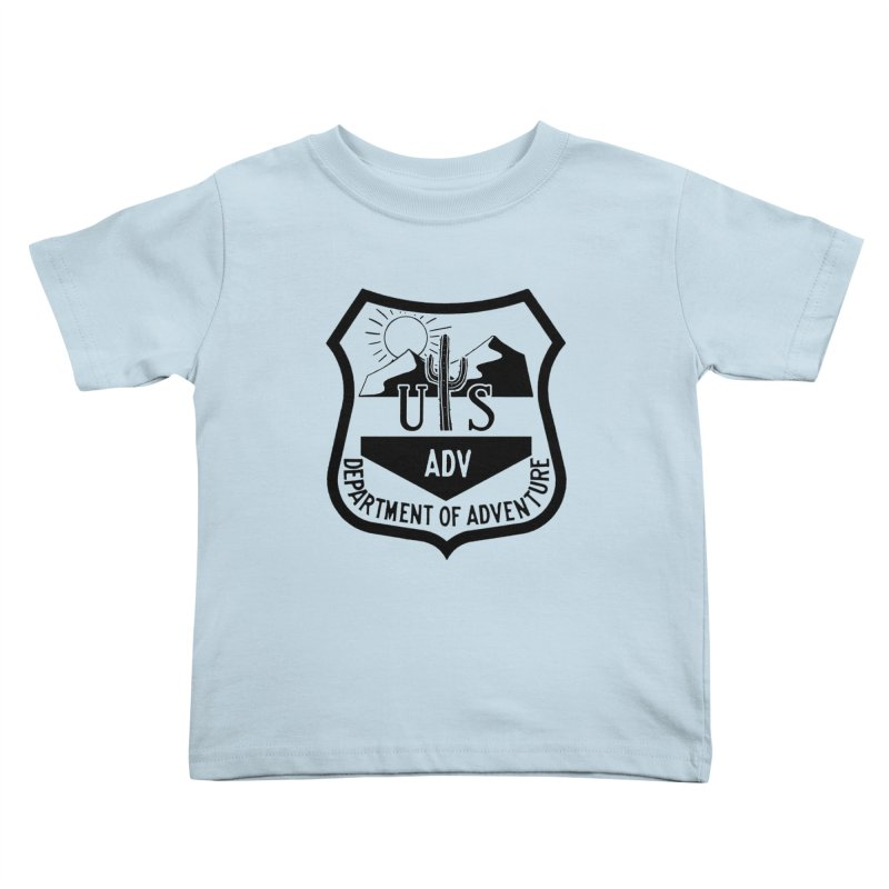 Dept. of Adventure - Desert Kids Toddler T-Shirt by CLINTZERO ONLINE SHOP