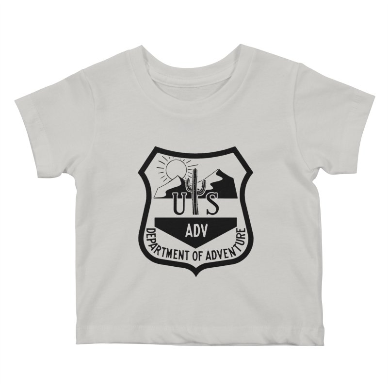 Dept. of Adventure - Desert Kids Baby T-Shirt by CLINTZERO ONLINE SHOP