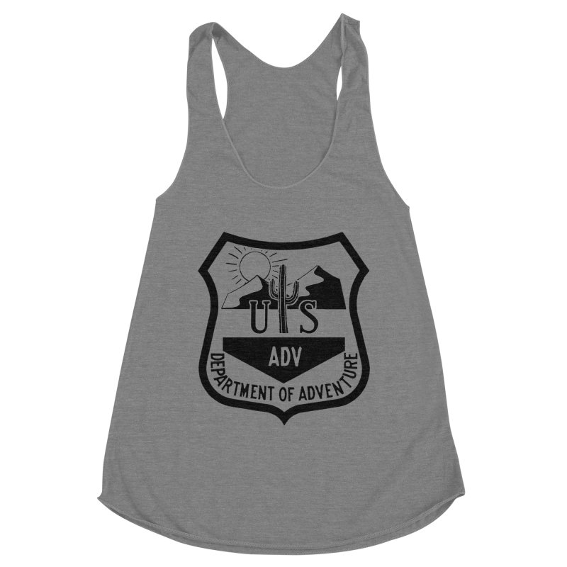 Dept. of Adventure - Desert Women's Racerback Triblend Tank by CLINTZERO ONLINE SHOP