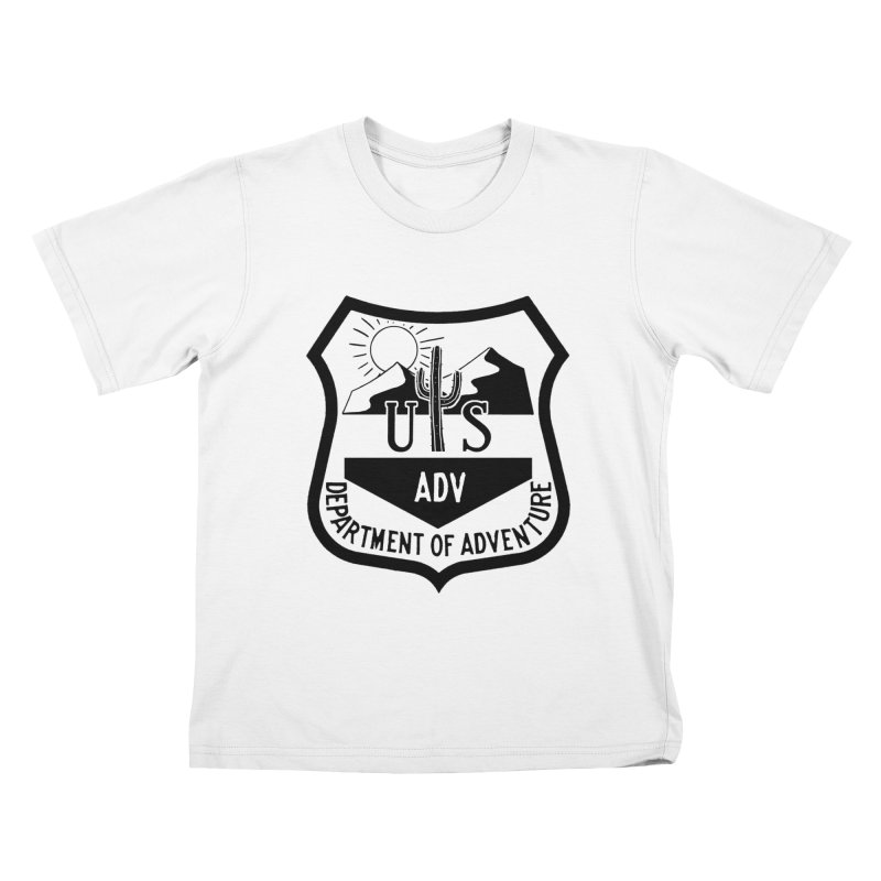 Dept. of Adventure - Desert Kids T-Shirt by CLINTZERO ONLINE SHOP