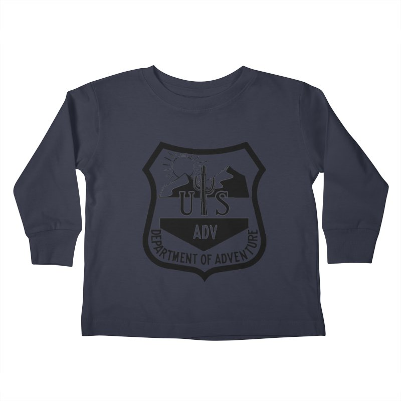 Dept. of Adventure - Desert Kids Toddler Longsleeve T-Shirt by CLINTZERO ONLINE SHOP
