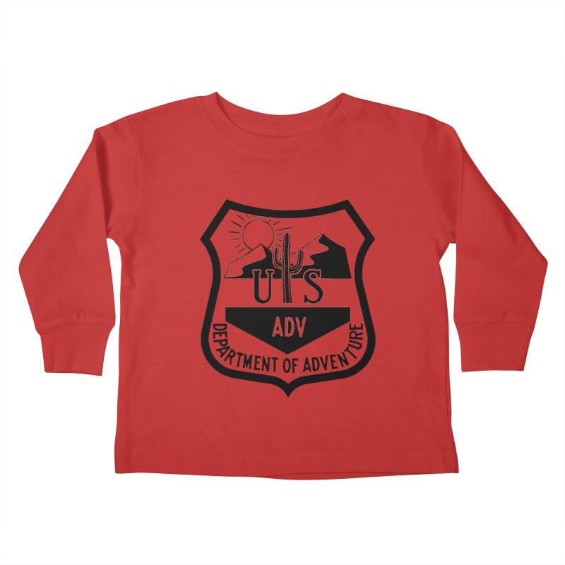 Dept. of Adventure - Desert Kids Toddler Longsleeve T-Shirt by CLINTZERO ONLINE SHOP