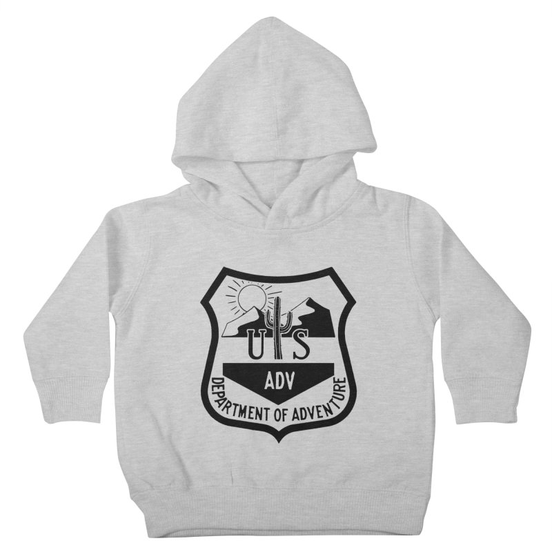Dept. of Adventure - Desert Kids Toddler Pullover Hoody by CLINTZERO ONLINE SHOP