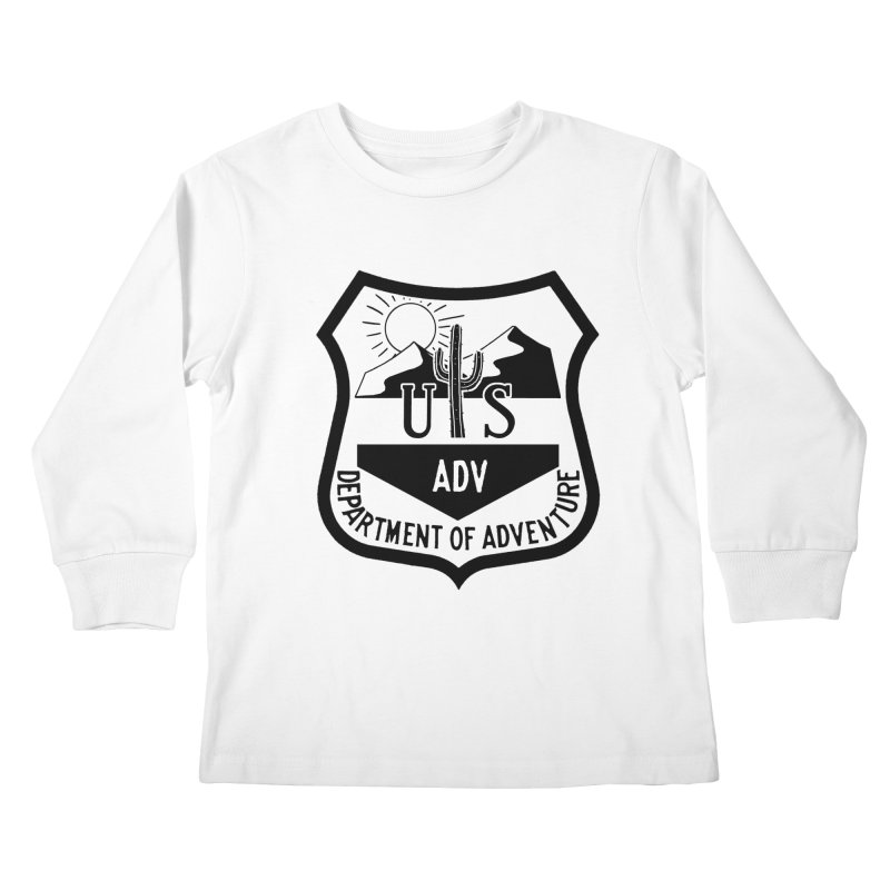Dept. of Adventure - Desert Kids Longsleeve T-Shirt by CLINTZERO ONLINE SHOP