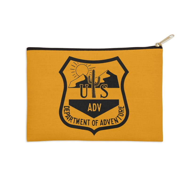 Dept. of Adventure - Desert Accessories Zip Pouch by CLINTZERO ONLINE SHOP