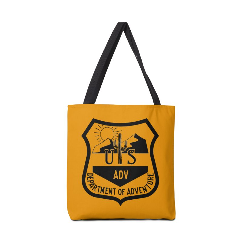 Dept. of Adventure - Desert Accessories Tote Bag Bag by CLINTZERO ONLINE SHOP