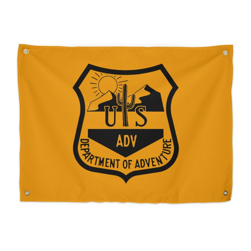 Dept. of Adventure - Desert Home Tapestry by CLINTZERO ONLINE SHOP