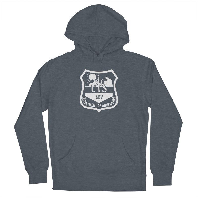 Dept. of Adventure - Desert (Inverted) Women's French Terry Pullover Hoody by CLINTZERO ONLINE SHOP