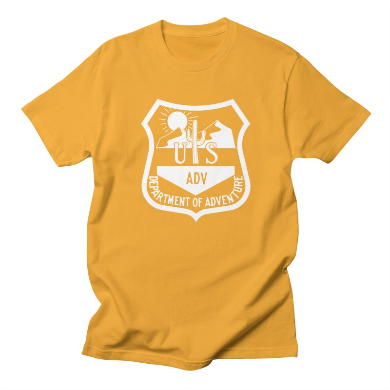 Dept. of Adventure - Desert (Inverted) Men's T-Shirt by CLINTZERO ONLINE SHOP