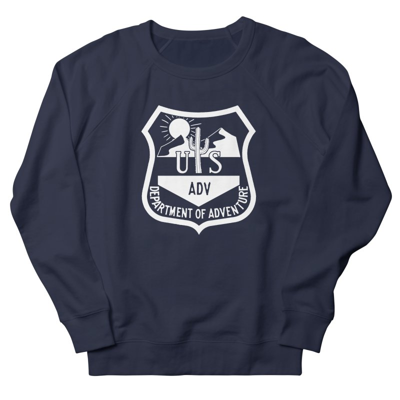 Dept. of Adventure - Desert (Inverted) Men's Sweatshirt by CLINTZERO ONLINE SHOP