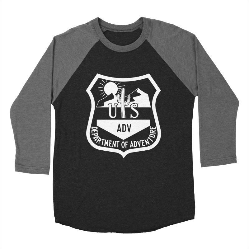 Dept. of Adventure - Desert (Inverted) Women's Baseball Triblend T-Shirt by CLINTZERO ONLINE SHOP