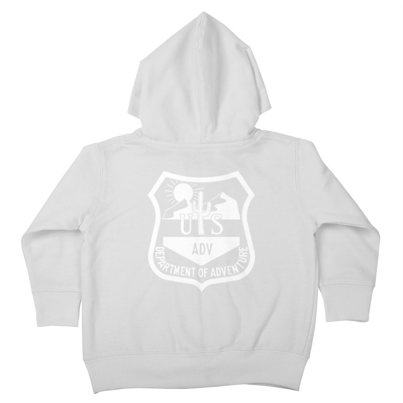 Dept. of Adventure - Desert (Inverted) Kids Toddler Zip-Up Hoody by CLINTZERO ONLINE SHOP