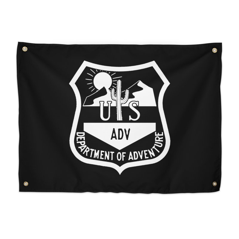 Dept. of Adventure - Desert (Inverted) Home Tapestry by CLINTZERO ONLINE SHOP