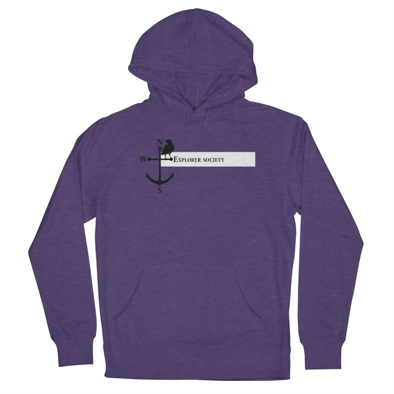 Explorer Society Men's French Terry Pullover Hoody by CLINTZERO ONLINE SHOP