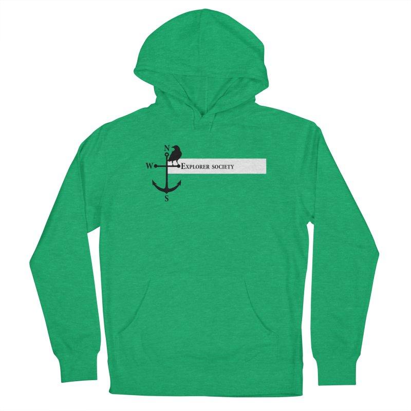 Explorer Society Men's Pullover Hoody by CLINTZERO ONLINE SHOP