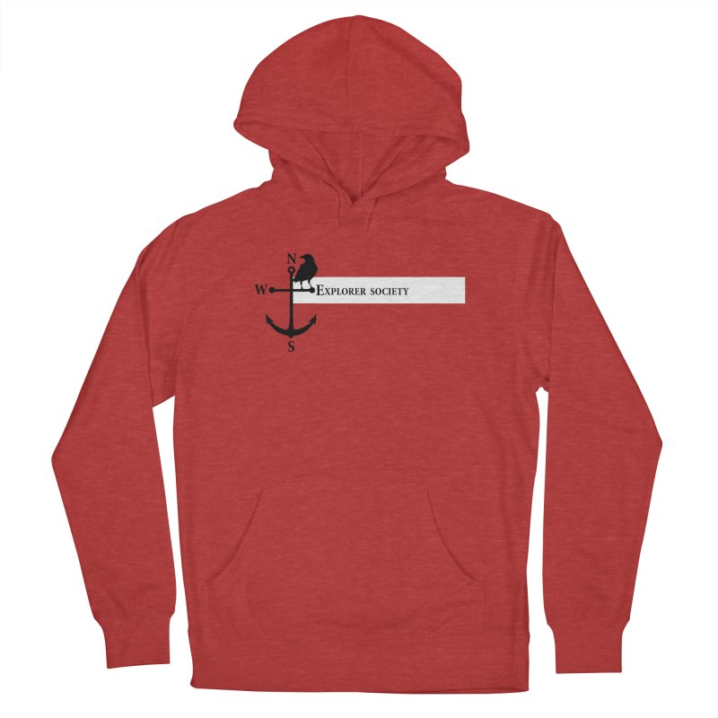 Explorer Society Men's Pullover Hoody by CLINTZERO ONLINE SHOP