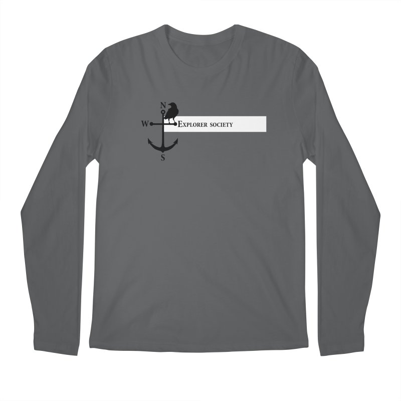 Explorer Society Men's Regular Longsleeve T-Shirt by CLINTZERO ONLINE SHOP