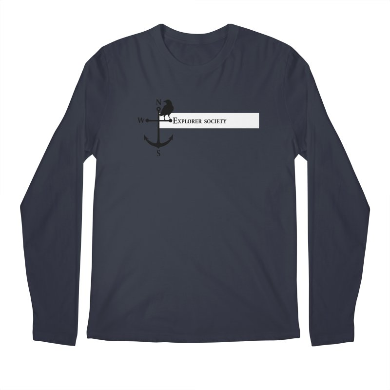 Explorer Society Men's Longsleeve T-Shirt by CLINTZERO ONLINE SHOP