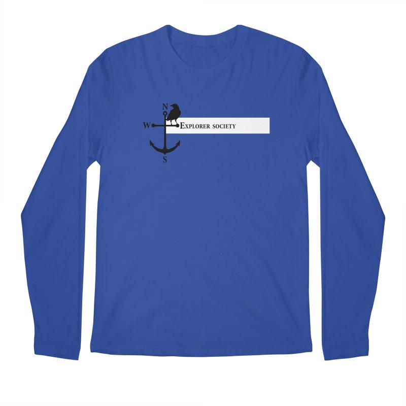 Explorer Society Men's Regular Longsleeve T-Shirt by CLINTZERO ONLINE SHOP