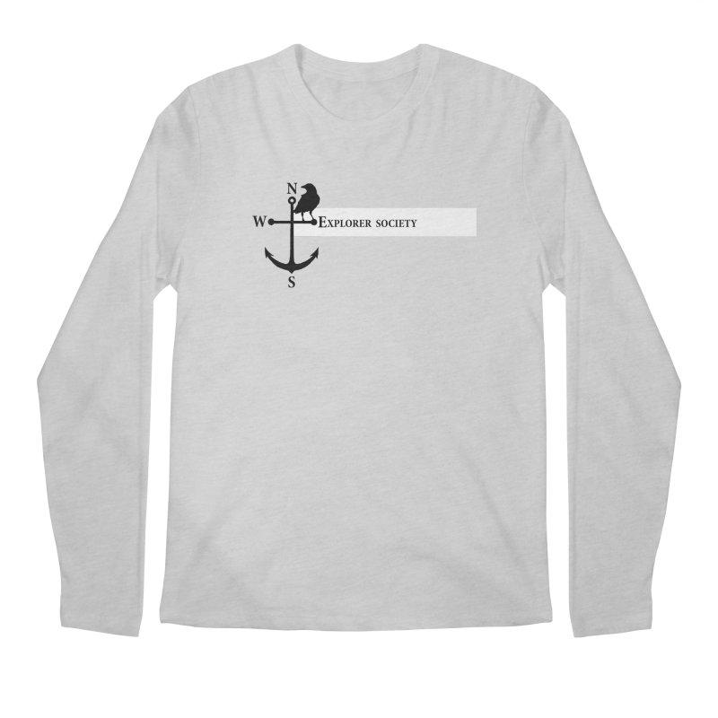 Explorer Society Men's Longsleeve T-Shirt by CLINTZERO ONLINE SHOP