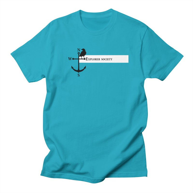 Explorer Society Men's T-shirt by CLINTZERO ONLINE SHOP