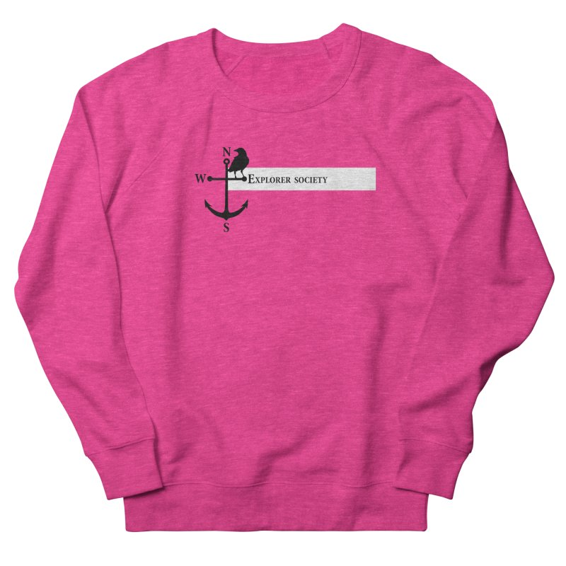 Explorer Society Women's French Terry Sweatshirt by CLINTZERO ONLINE SHOP