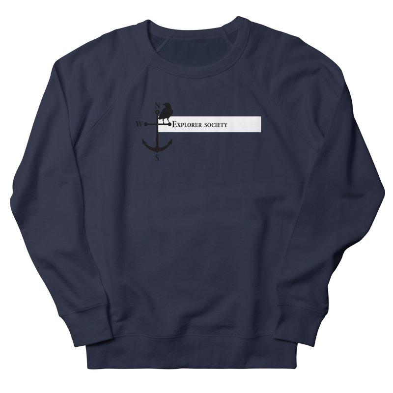 Explorer Society Women's French Terry Sweatshirt by CLINTZERO ONLINE SHOP
