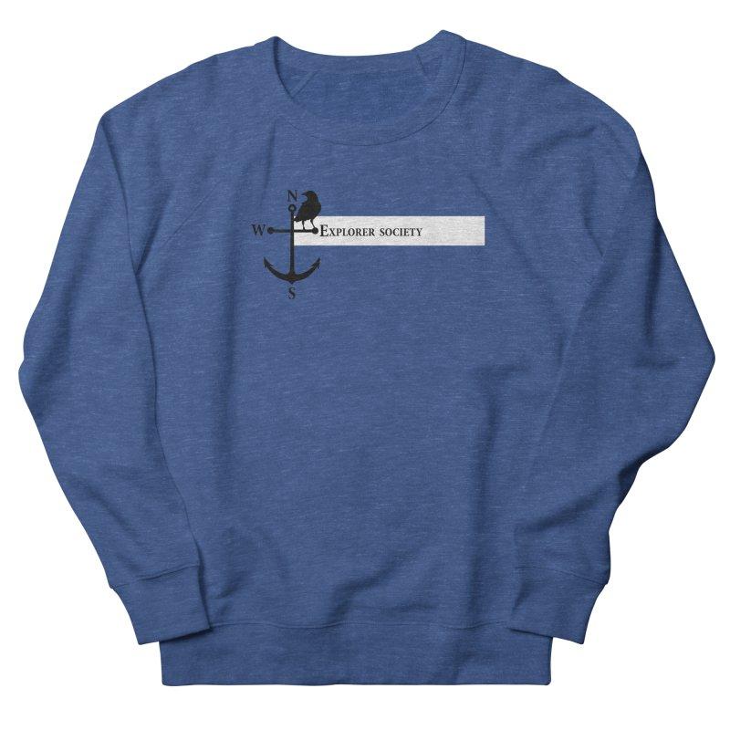 Explorer Society Men's French Terry Sweatshirt by CLINTZERO ONLINE SHOP