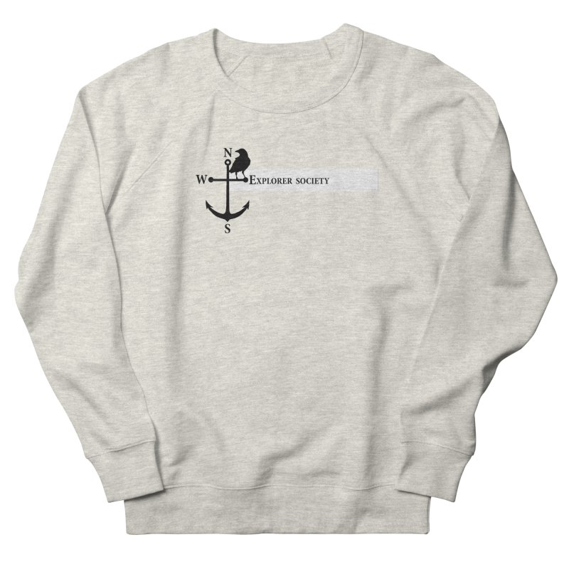 Explorer Society Men's French Terry Sweatshirt by CLINTZERO ONLINE SHOP