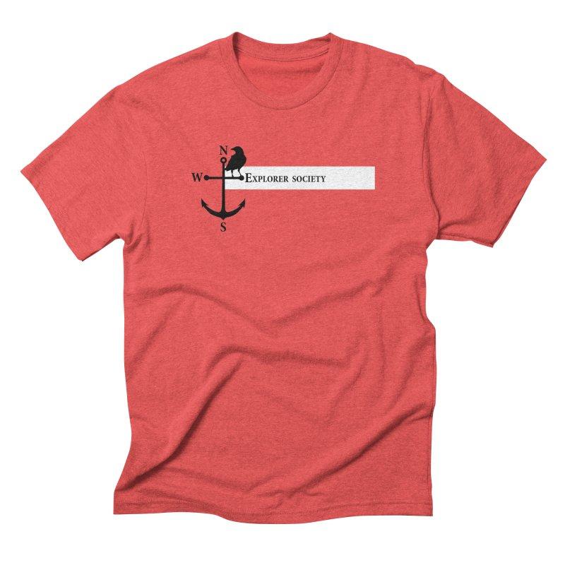 Explorer Society Men's Triblend T-Shirt by CLINTZERO ONLINE SHOP