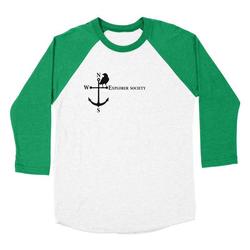 Explorer Society Women's Baseball Triblend T-Shirt by CLINTZERO ONLINE SHOP