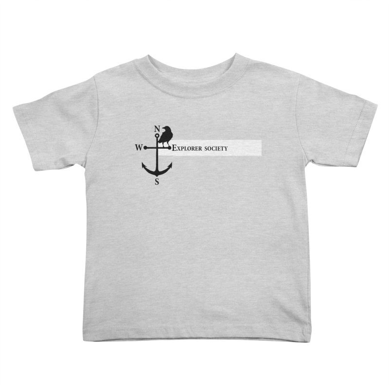 Explorer Society Kids Toddler T-Shirt by CLINTZERO ONLINE SHOP